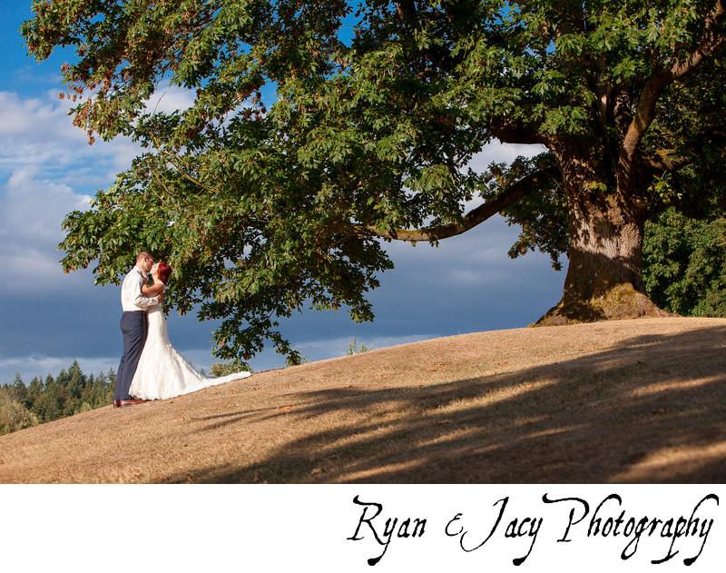 Wedding Photographers Shuksan Golf Course