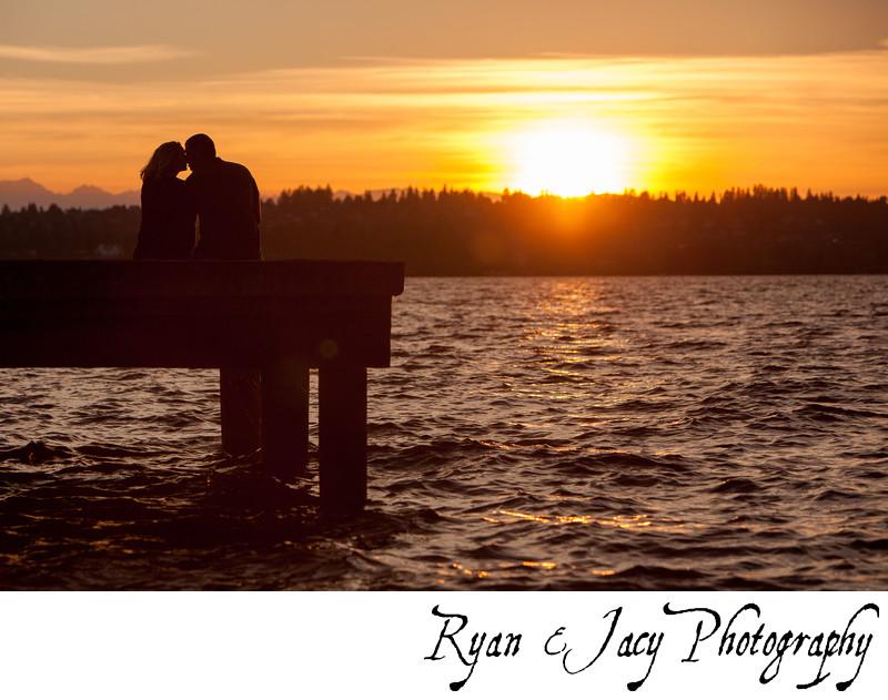 Engagement Photos Kirkland Waterfront Kirkland