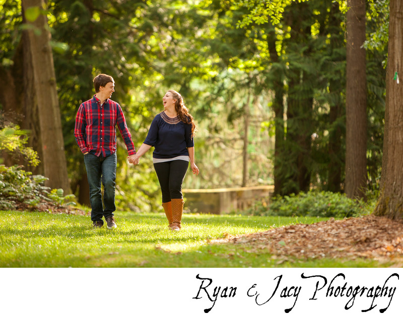 Engagement Photographers UW Botanical Gardens