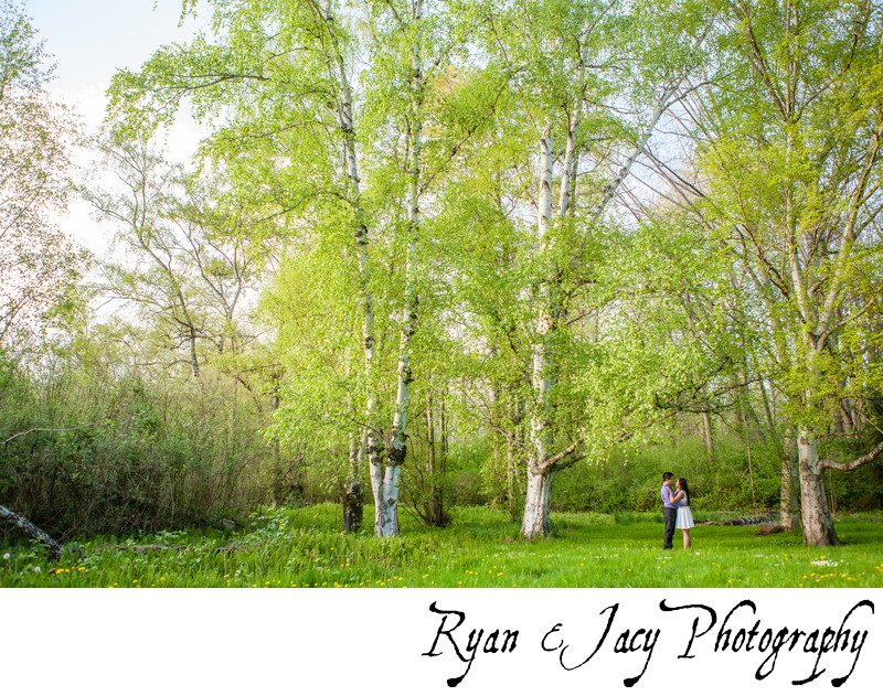 Engagement Pictures Arboretum Seattle