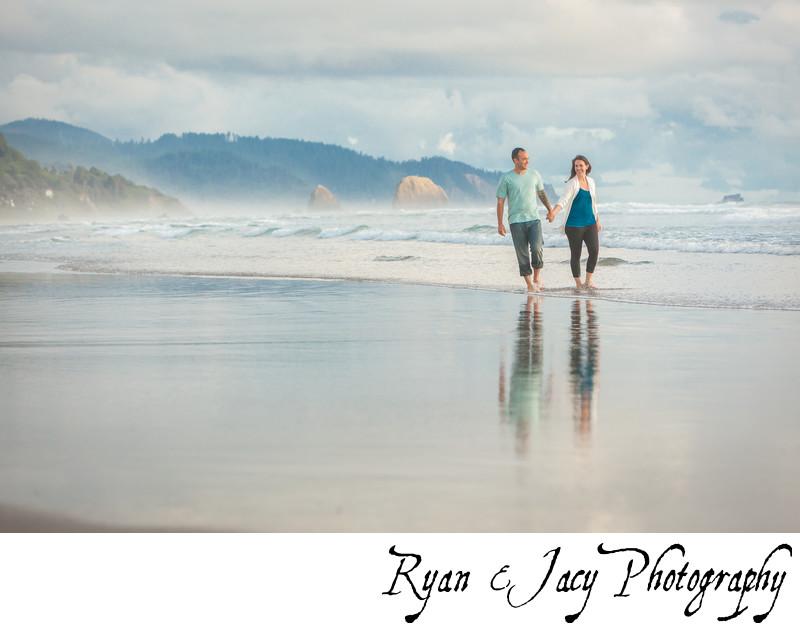 Engagement Photographs Cannon Beach