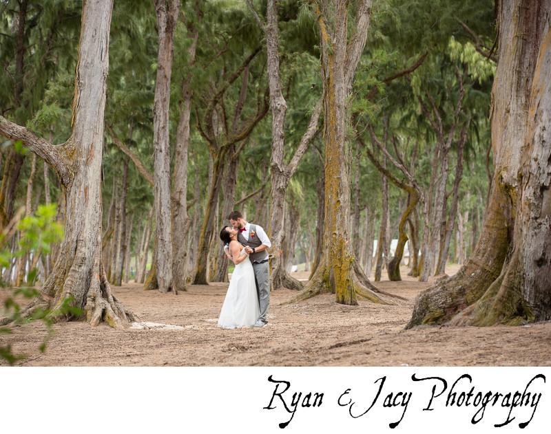 Wedding Photography at Waimānalo Bay Hawaii