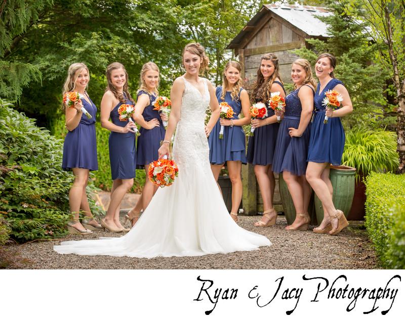 Pine Creek Nursery Wedding Photographers
