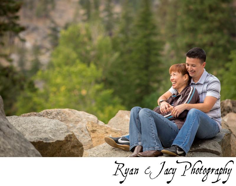 Leavenworth Engagement pictures