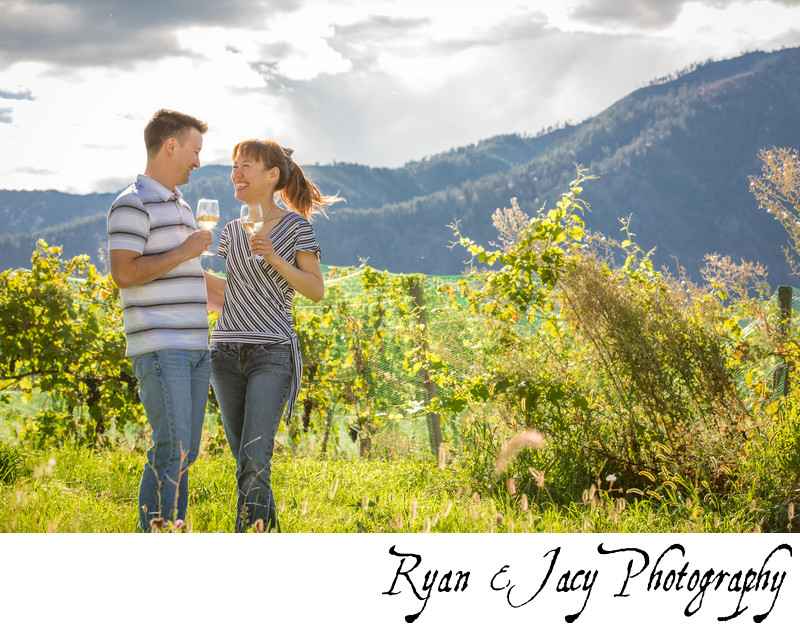 Chelan Engagement Photos