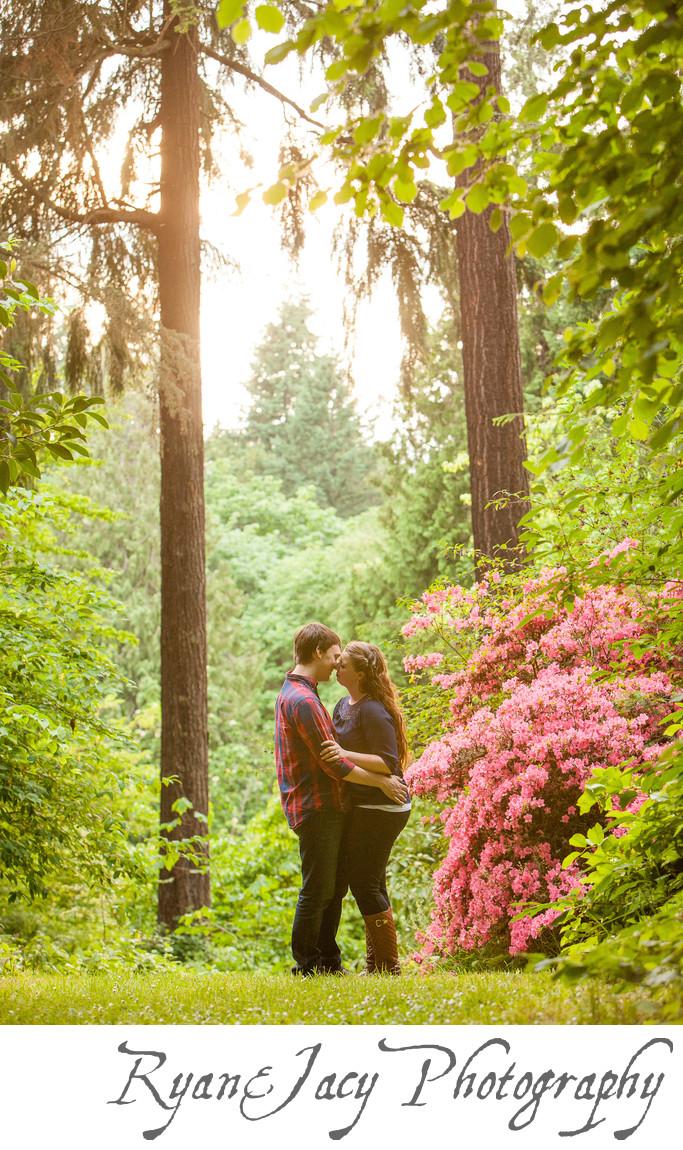Engagement Pictures Seattle UW Arboretum
