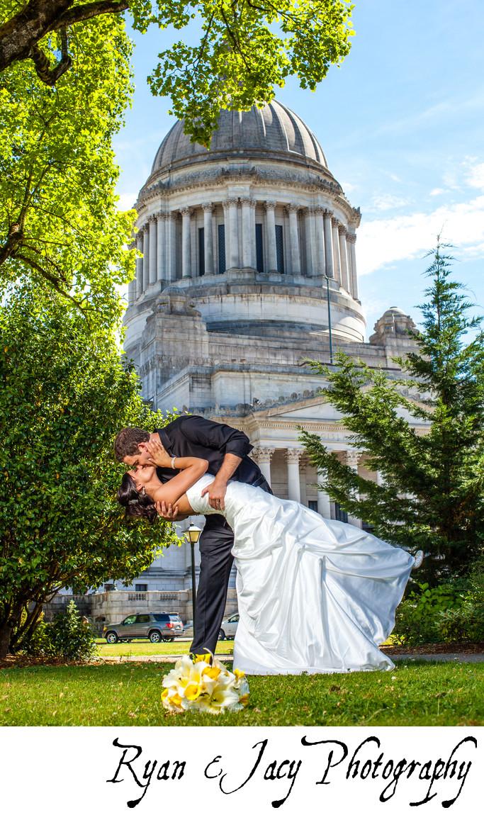 Wedding Photographers Olympia Capitol Building