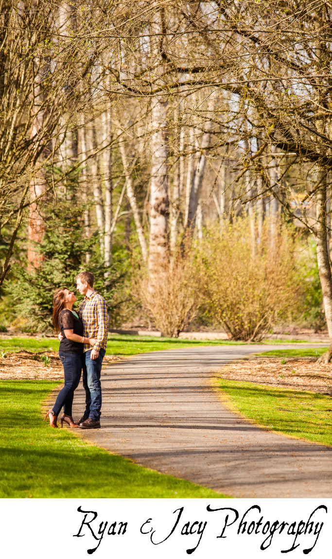Engagement Photography Bothell Landing
