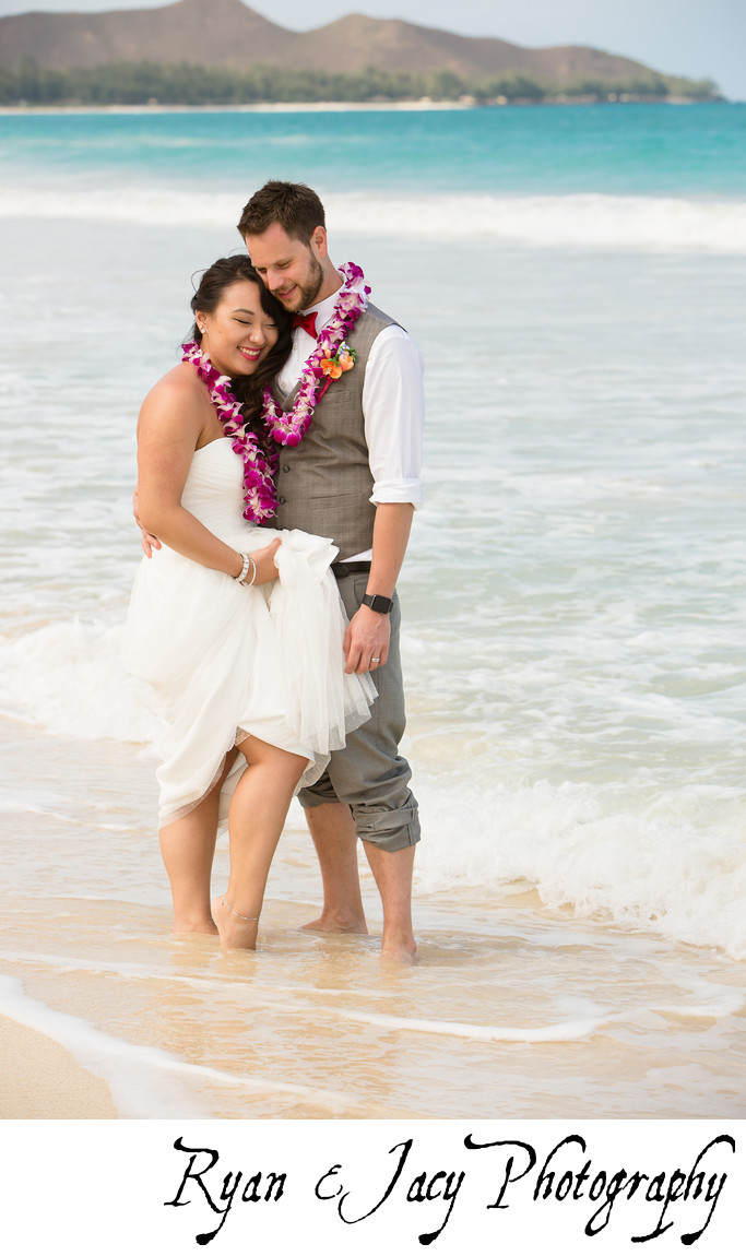 Beach Weddings at Waimānalo Bay