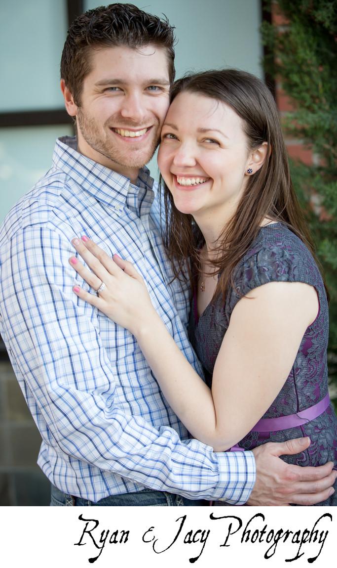 Engagement photos Magnolia Seattle