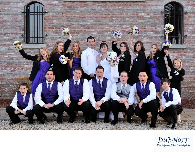 Bridal Party Palm Event Center in Livermore Valley