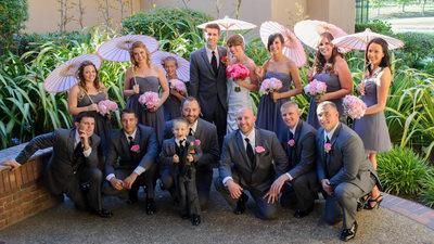 bridal party at blackhawk