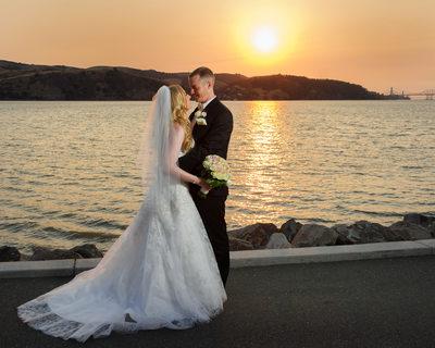 bencia sunset wedding
