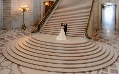 grand staircase sf city hall