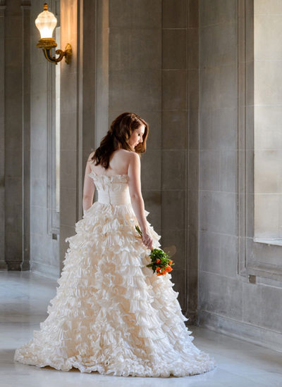 soft window light bride