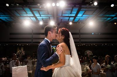 Wedding at Marriott Tang Plaza Hotel