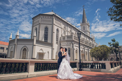 Chijmes Wedding Photography in Singapore