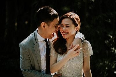 Wedding Photography Singapore at Botanic Garden