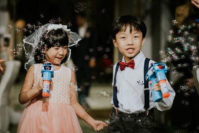 Wedding Photography Singapore Flower Girl & Page Boy