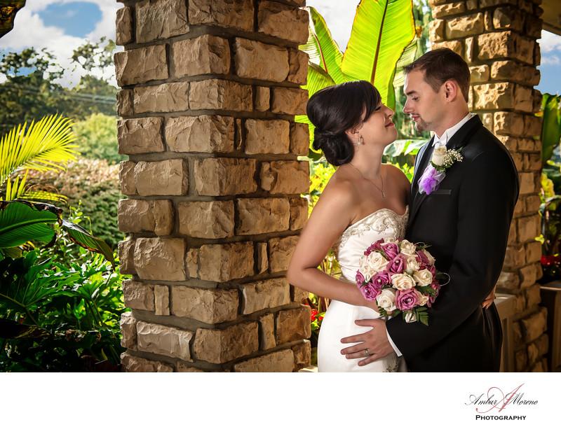 Scotland Run Country Club Wedding-Front garden