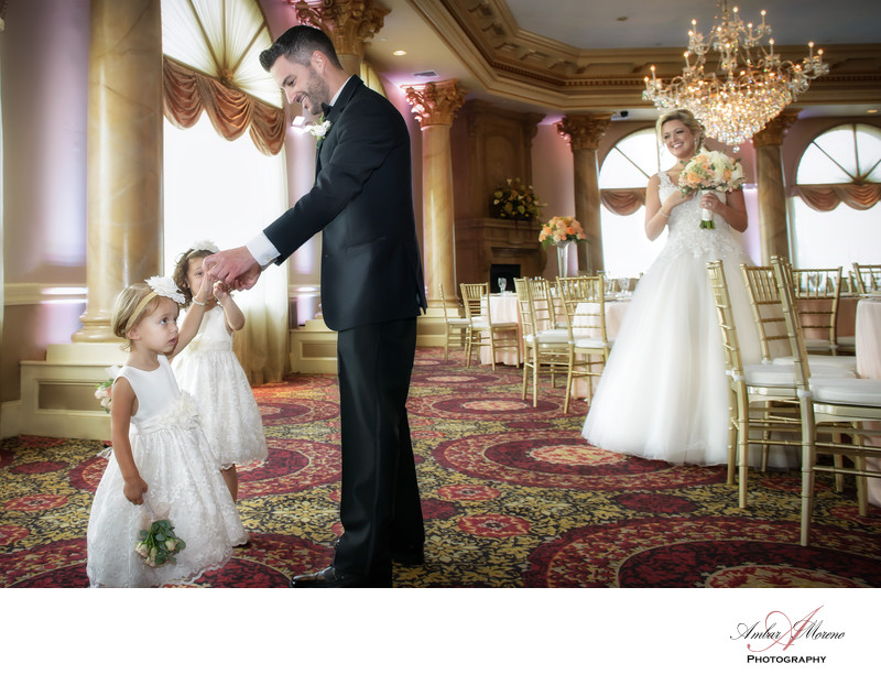 Luciens Manor Wedding - Flower Girls