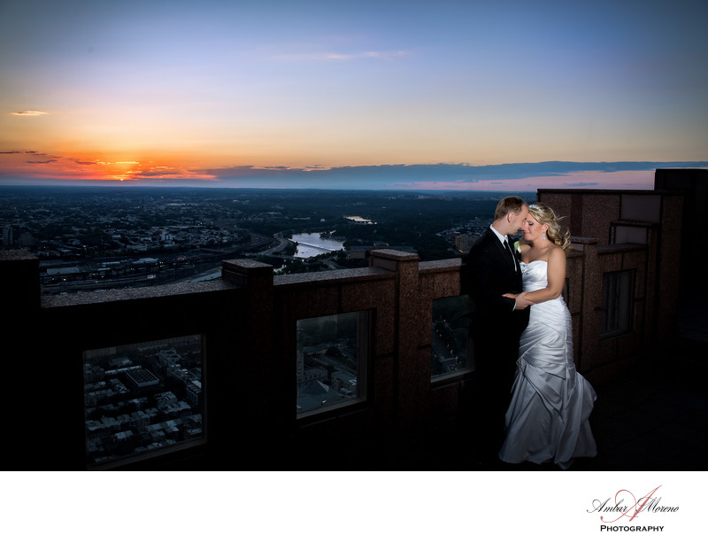Philadelphia Wedding Photographer | Top of the Tower