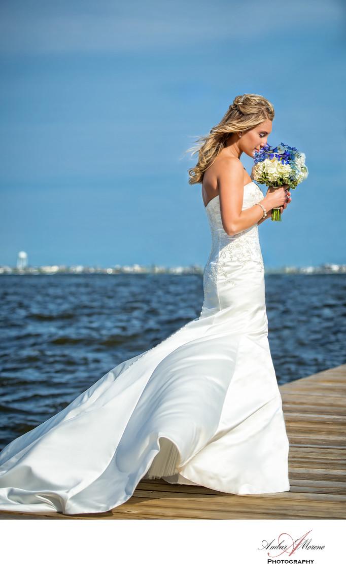 Bayville NJ Wedding Photographer-Martells Waters Edge