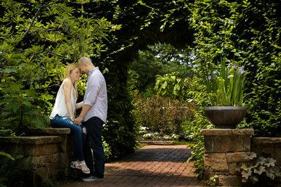 Longwood Gardens Engagement-Garden