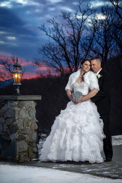 Sunset Wedding - Stroudsmoor Country Inn