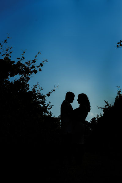 Cape May  Willow Creek Engagement Sunset