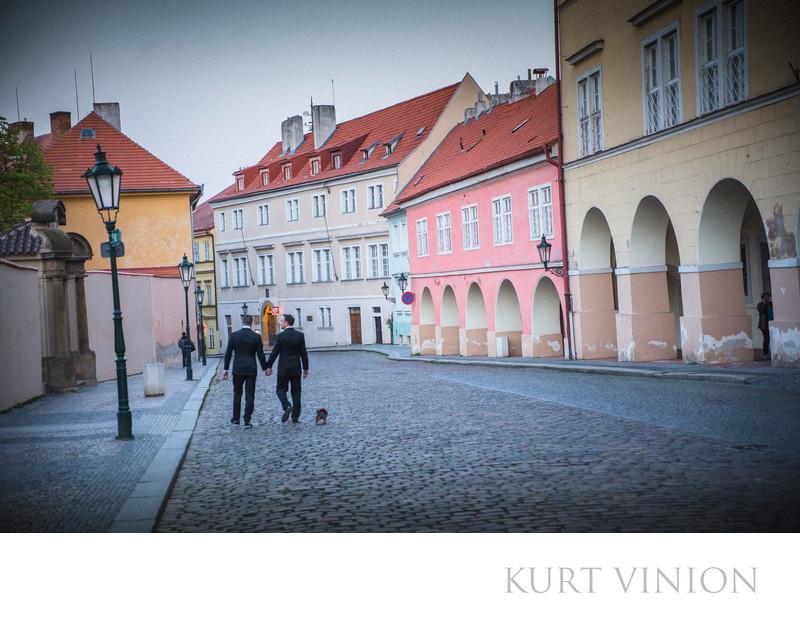 Prague LGBT post wedding photos