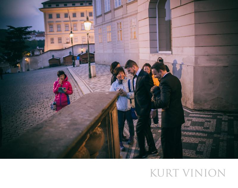 Lifestyle portraits Prague Castle WG