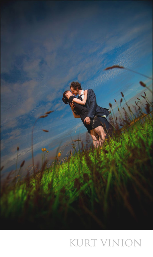 modern engagement photography Ireland