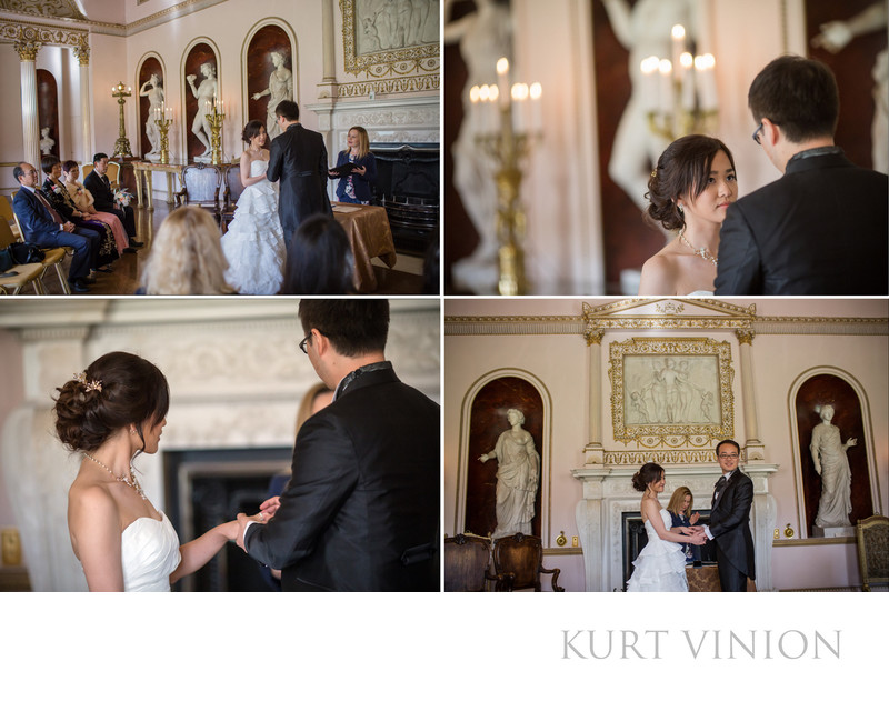 London Syon House wedding ceremony