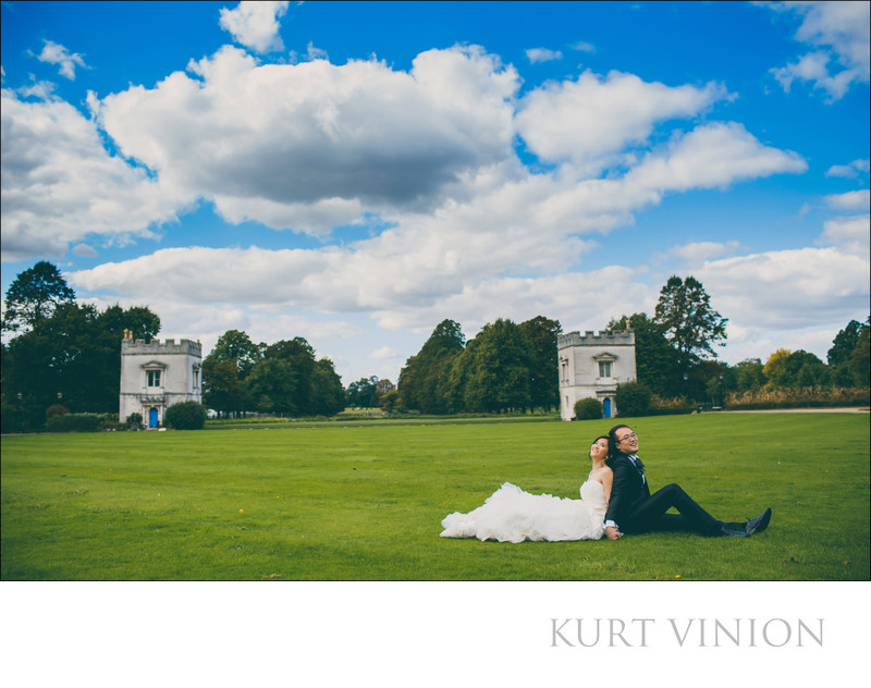 the spectacular Syon Park - in wedding pictures