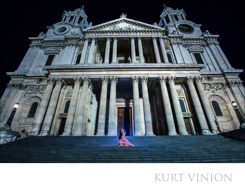 London pre wedding photographer St Paul Cathedral