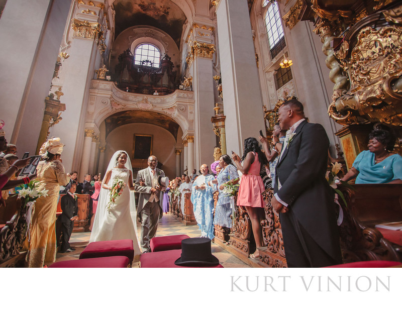 Chika & Emeka​'s beautiful Nigerian wedding in Prague
