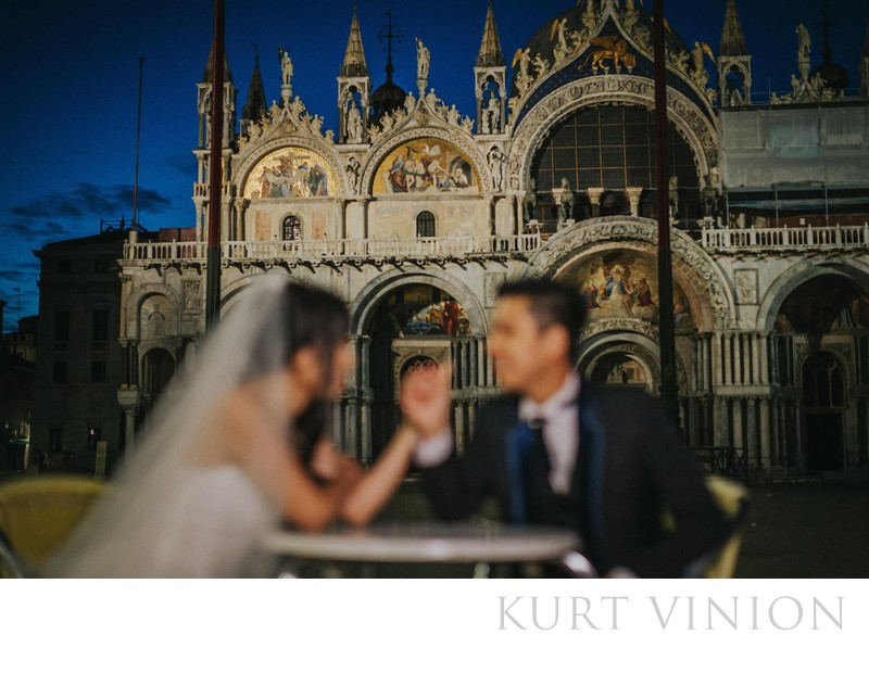 pre wedding photo Venice D&L (HK) at St Mark's Basilica