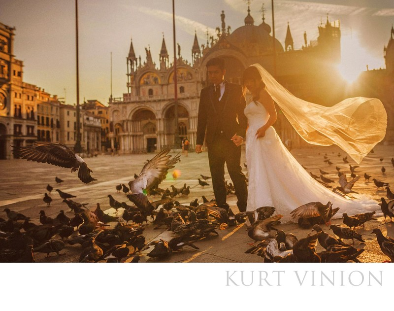 Venice pre wedding photography with D&L (HK)