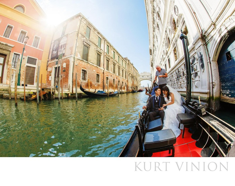 Venice pre weddings Gondola ride