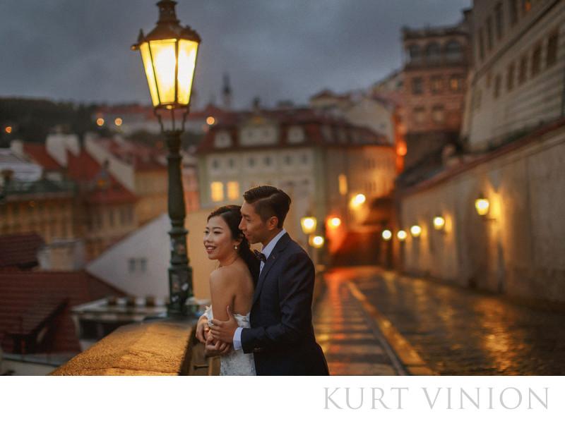 destination pre wedding photography Prague R&F