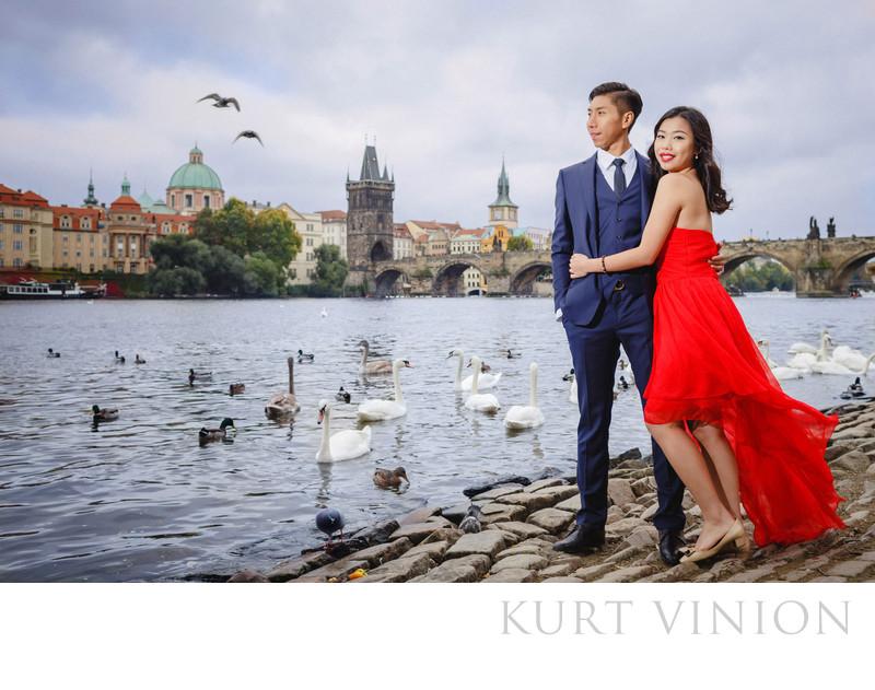 best pre wedding photos Prague 2016 RF