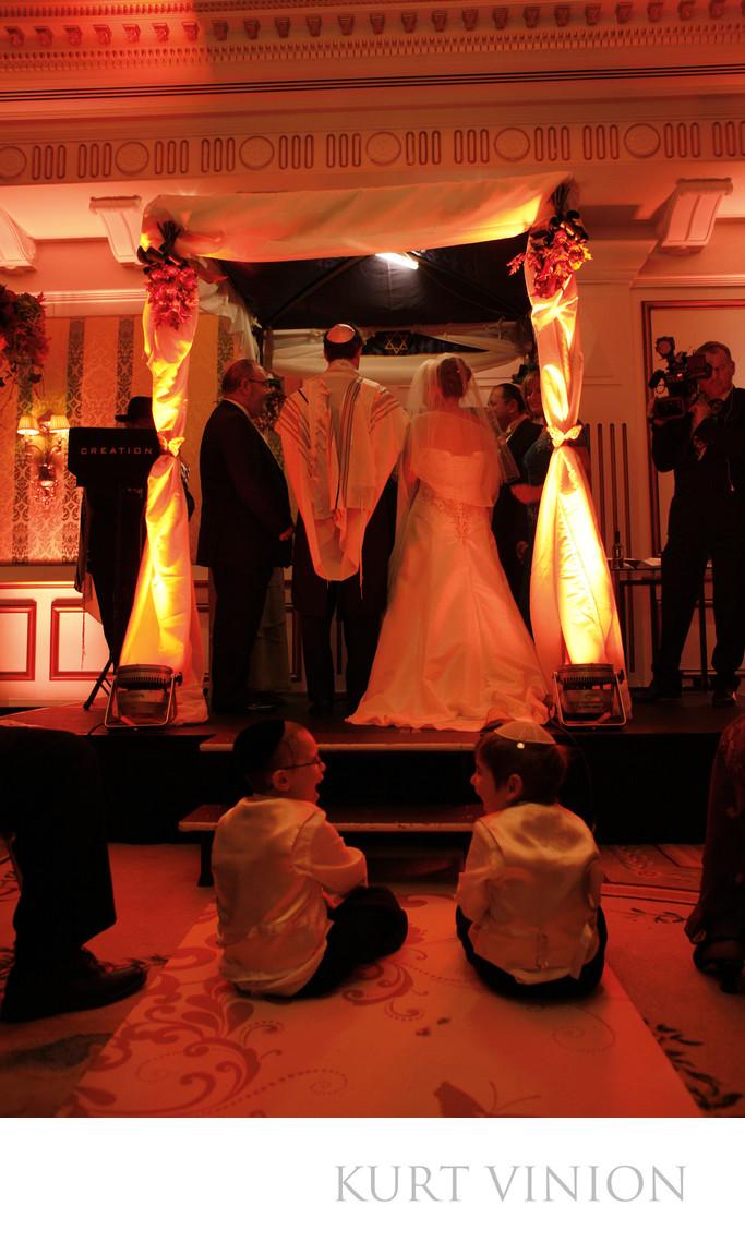 Jewish weddings Ritz-Carlton photographer