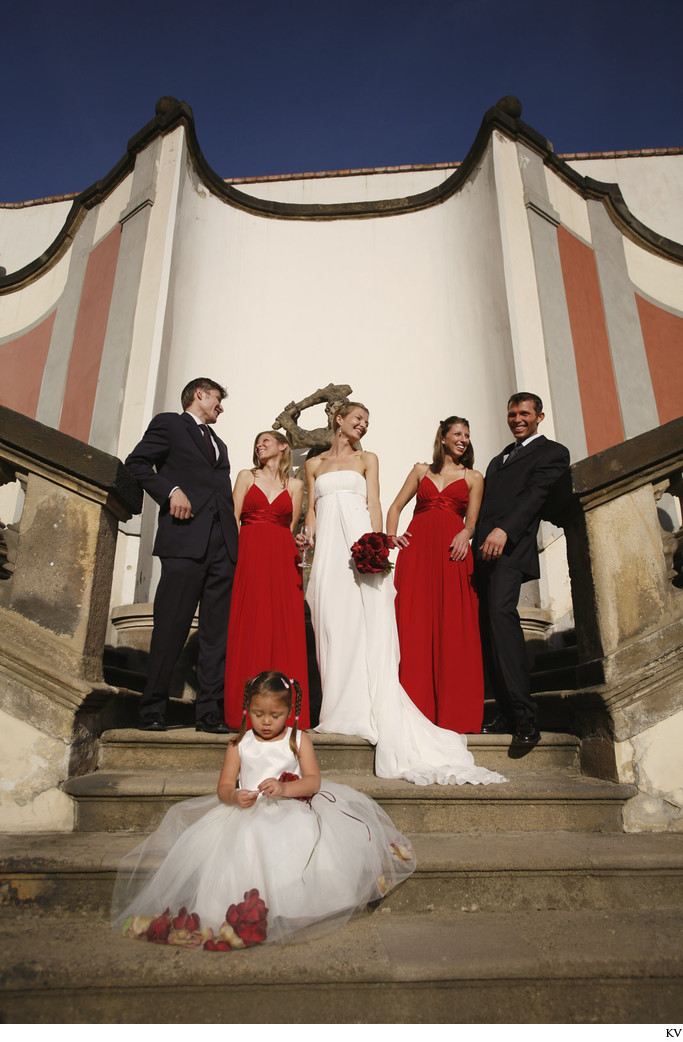 magazine styled wedding portrait captured at Ledeburska