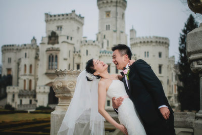 Hluboka Castle wedding photos SS favorite portraits