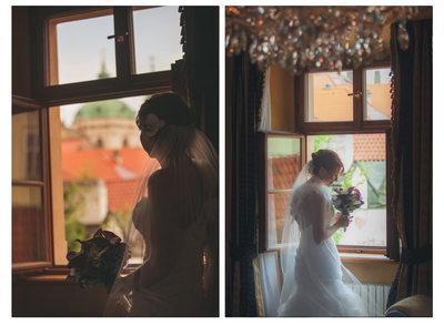 Kimberly Alchymist Hotel bridal portraits