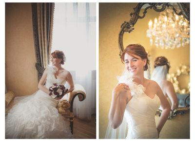 Kimberly's bridal portraits Prague Alchymist Hotel