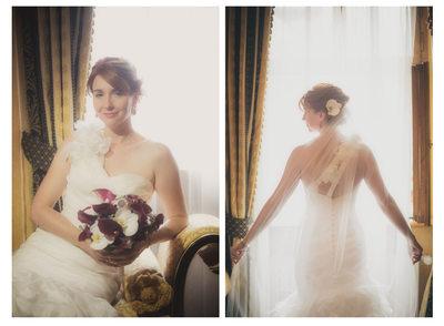 Alchymist Hotel Prague bridal portraits