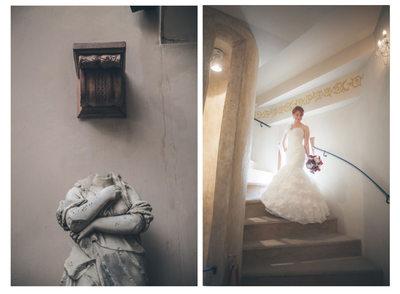 Alchymist Hotel bridal portraits