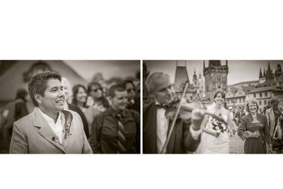 Prague Charles Bridge Wedding Photography